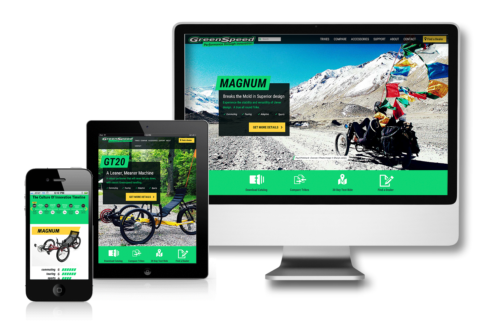 GreenSpeed Trikes Case Study